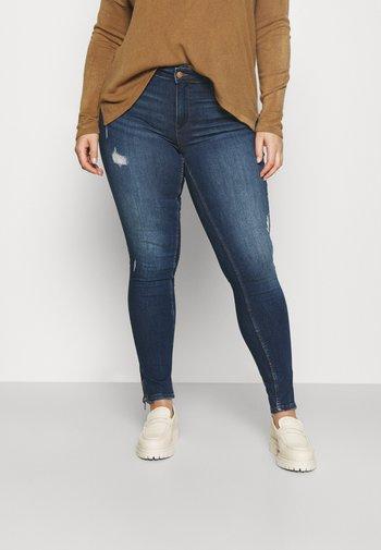 CARKARLA LIFE - Jeans Skinny Fit - dark blue denim