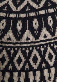 Wool & Co - PARICOLLO JAQUARD  - Jumper - blue - 2