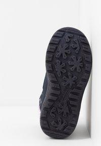 Superfit - CRYSTAL - Winter boots - blau/lila - 4