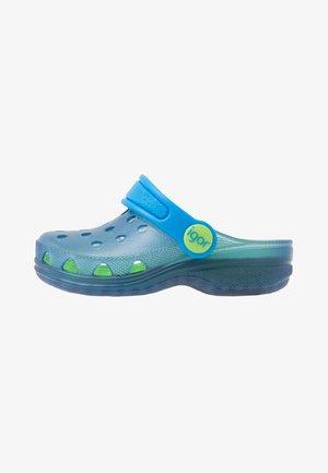 POPPY - Sandály do bazénu - azul/turquesa
