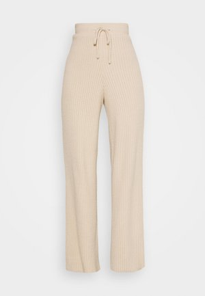 SOFT TROUSERS - Trousers - clay