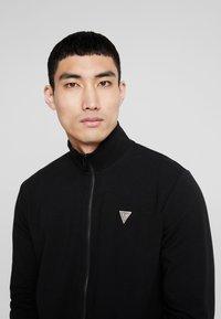 Guess - FOX TRACK  - Zip-up hoodie - jet black - 4