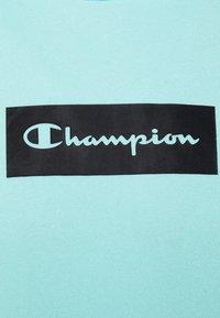 Champion - HOODED - Sweatshirt - turquoise - 5