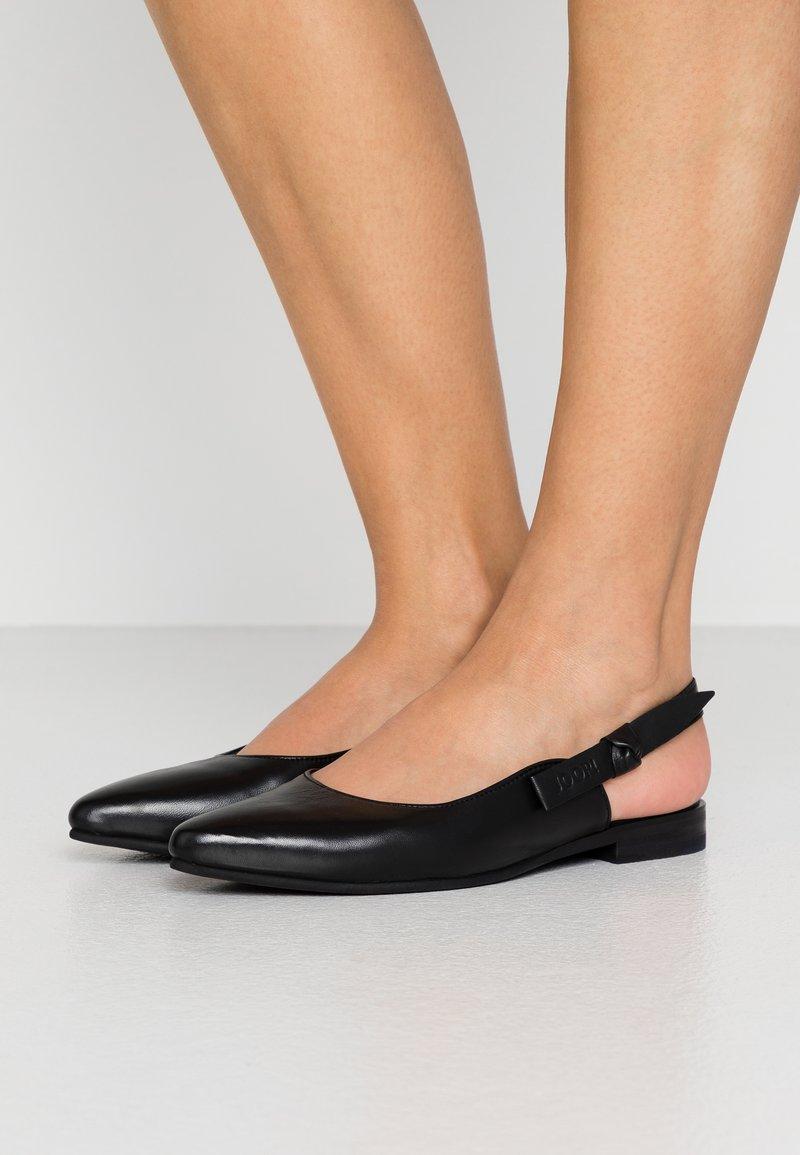 JOOP! - UNICO ISMENE - Slingback ballet pumps - black