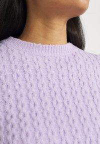 Missguided - TEXTURED JUMPER AND JOGGER SET - Jumper - lilac - 6