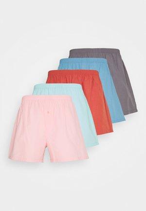 5 PACK - Boxershorts - dark grey/red/blue