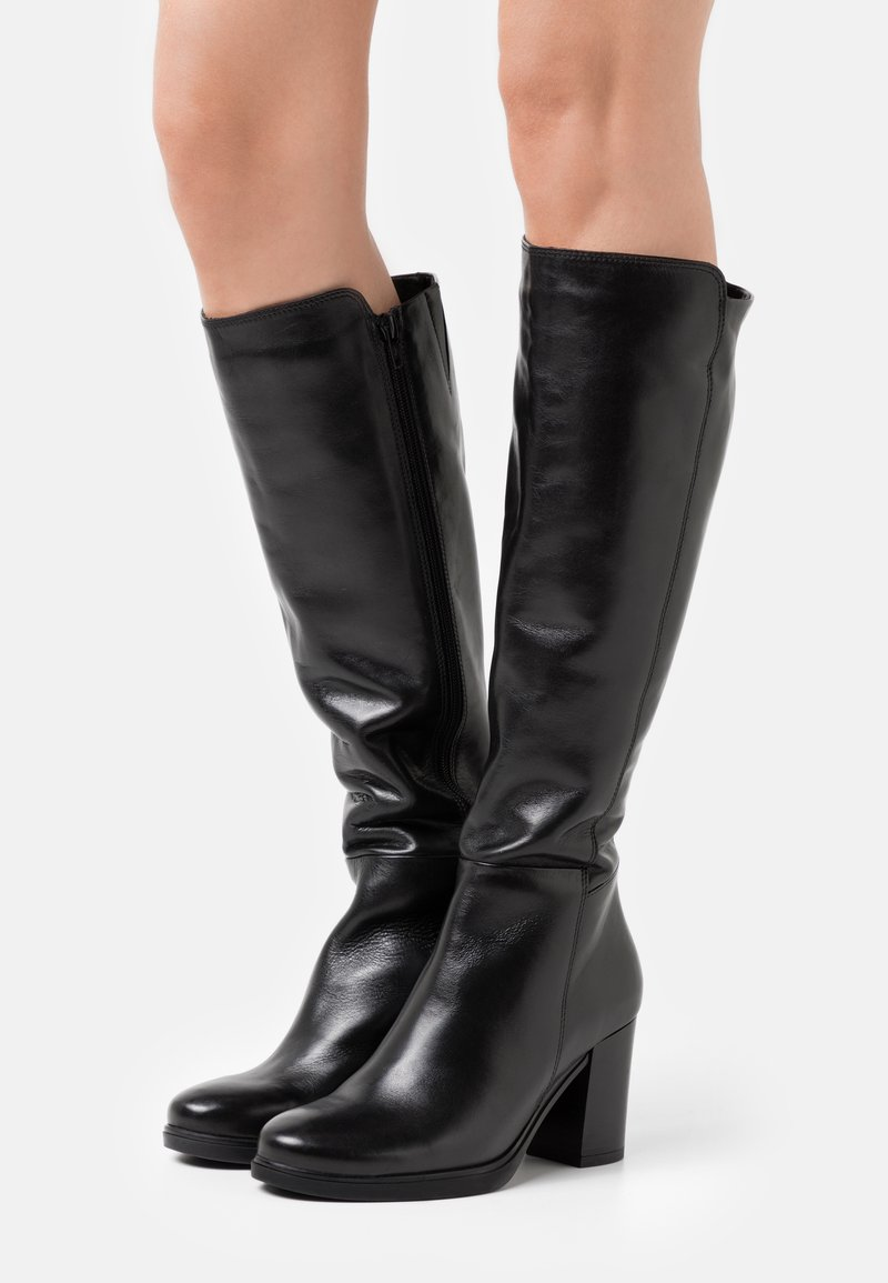 Tata Italia - Vysoká obuv - black