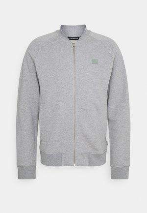 JOSEF ZIP - Zip-up hoodie - grey melange