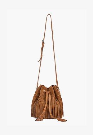THE GIPSY  - Across body bag - camel