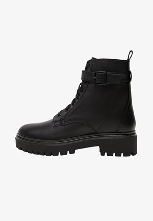 BEATLE - Cowboy/biker ankle boot - schwarz