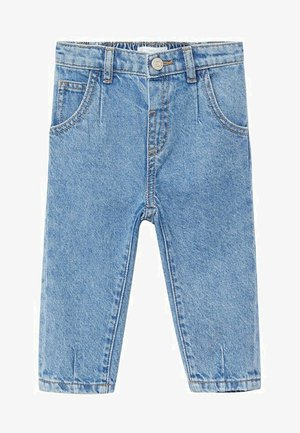 SLOUCHY - Straight leg jeans - middenblauw