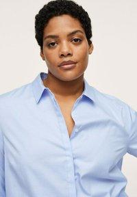 Mango - Button-down blouse - hemelsblauw - 3