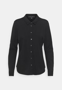 comma - LANGARM - Button-down blouse - black - 3