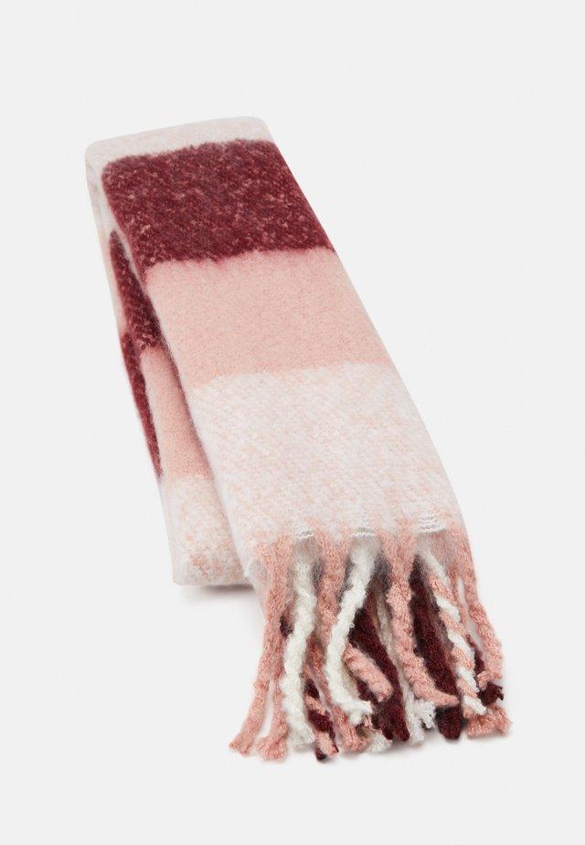 Sjal - light pink/bordeaux