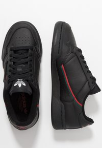adidas Originals - CONTINENTAL 80 - Sneakers laag - core black/scarlet/collegiate green - 1