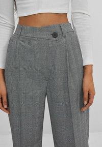 Bershka - Pantalon classique - grey - 3