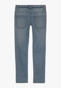 Benetton - TROUSERS - Jeansy Slim Fit - light blue - 1