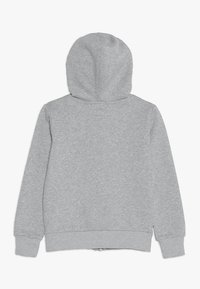 Converse - CHUCK PATCH FULL ZIP HOODIE  - Hoodie met rits - dark grey heather - 1