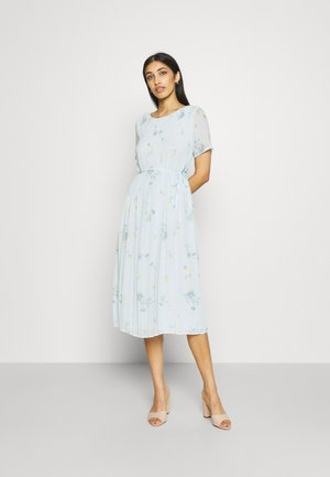 VIPLISSEA MIDI DRESS - Denní šaty - faded denim