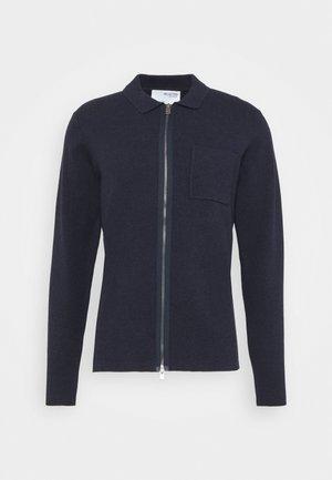 SLHWILL CARDIGAN - Cardigan - navy blazer melange
