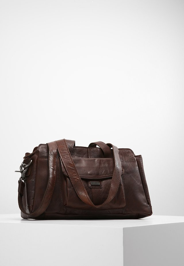 Handtas - dark brown