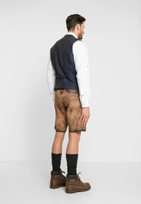 Krüger Dirndl - Kožené kalhoty - light brown - 3