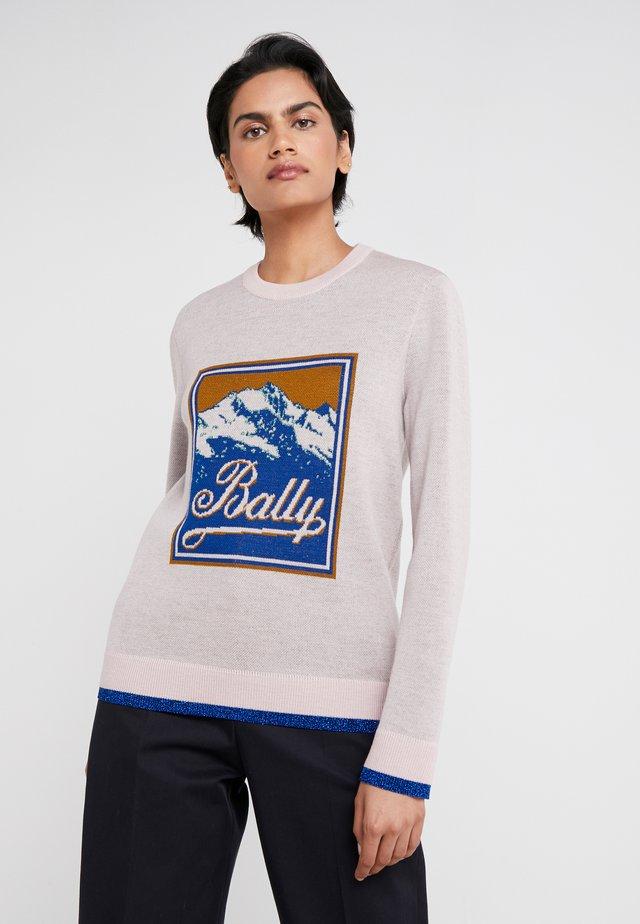 Sweter - blush