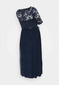 MAMALICIOUS - MLMIVANA DRESS - Cocktail dress / Party dress - navy blazer - 1