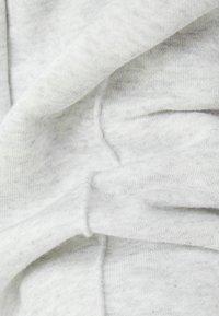 Bershka - WIDE LEG - Tracksuit bottoms - light grey - 5