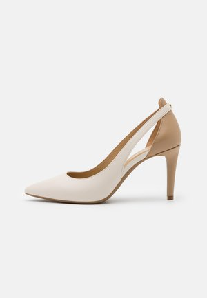 CERSEI FLEX MID - High heels - light cream/multicolor