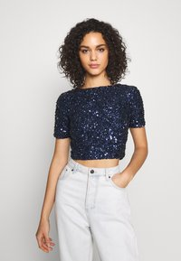 Lace & Beads - LETTY - Bluse - midnight blue - 0