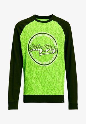 SALTY DOG - Long sleeved top - bright green