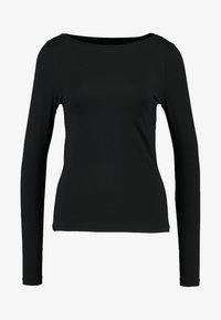 Vero Moda - VMPANDA  - Top sdlouhým rukávem - black - 3