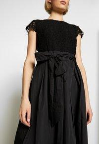Lauren Ralph Lauren - TAFFETA LONG GOWN COMBO - Společenské šaty - black - 5