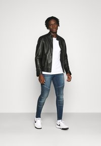 11 DEGREES - BIKER - Jeans Skinny Fit - grey - 1