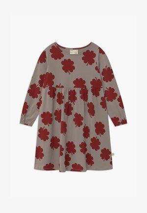 Robe en jersey - vintage khaki