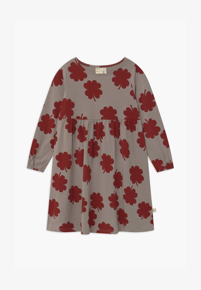 Jersey dress - vintage khaki