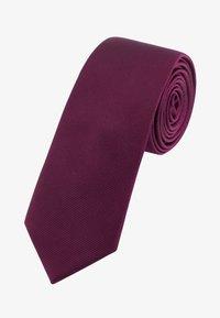 SLIM  - Krawat - dark purple