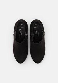 New Look Wide Fit - WIDE FIT BINGO - Tacones - black - 5