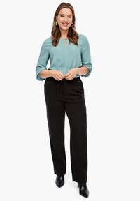 Triangle - REGULAR FIT - Trousers - black - 1