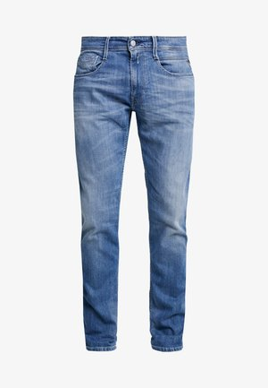 ANBASS - Jeans a sigaretta - medium blue