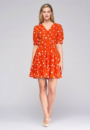 Day dress - naranja