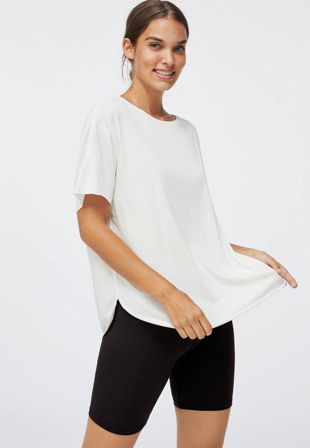 MODAL - Basic T-shirt - white