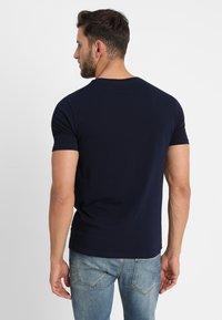 Benetton - Basic T-shirt - navy - 2