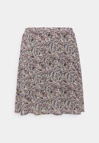 Moss Copenhagen - ENNIS RIKKLIE SKIRT - Mini skirt - aqua gray - 0