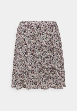 ENNIS RIKKLIE SKIRT - Mini skirt - aqua gray