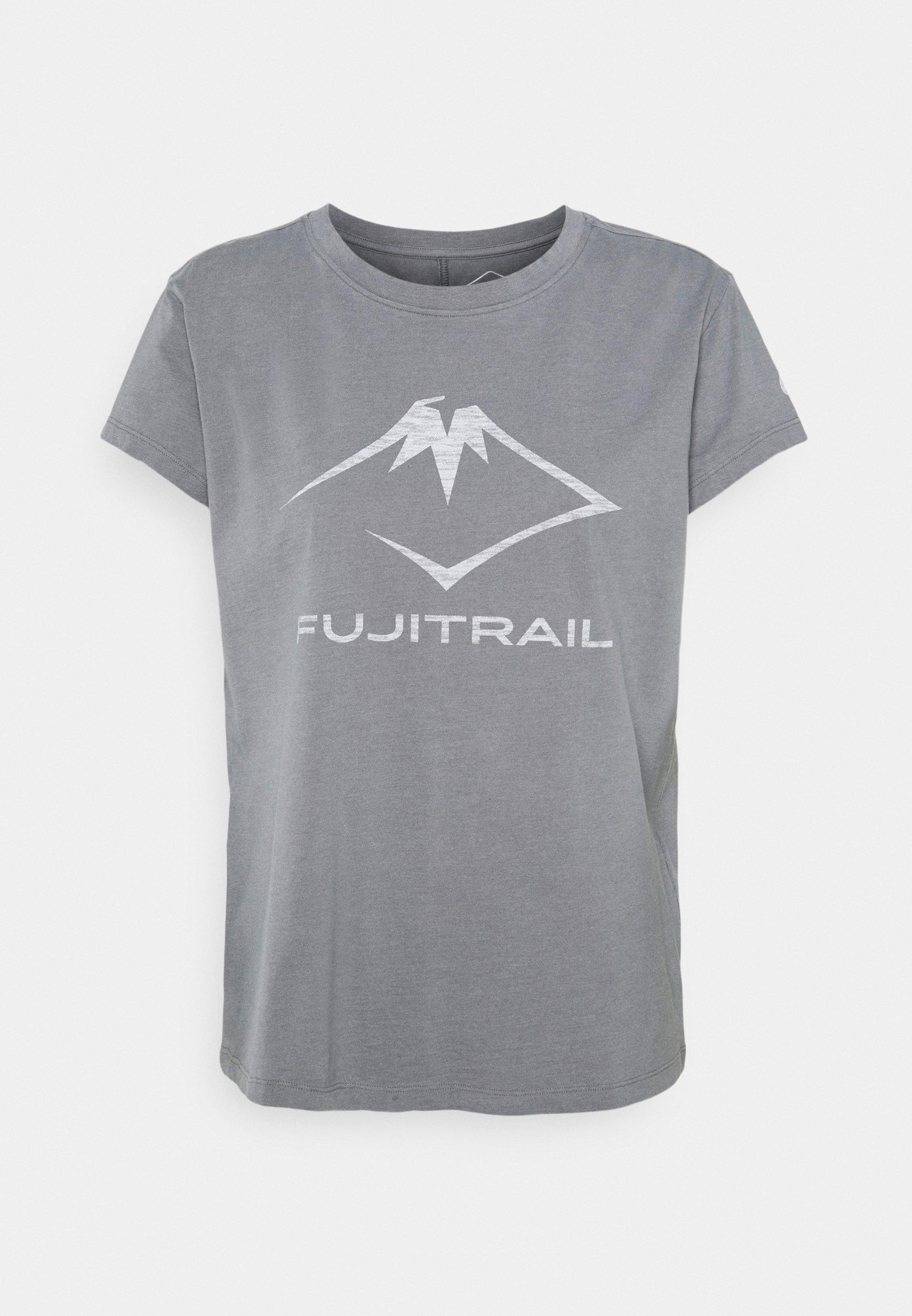 Femme FUJI TRAIL TEA - T-shirt imprimé