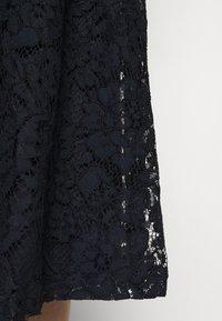 Lauren Ralph Lauren - AMBER SHORT SLEEVE DAY DRESS - Cocktail dress / Party dress - lighthouse navy - 4