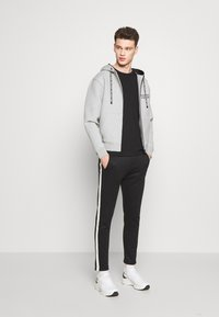 The Kooples - veste en sweat zippée - grey - 1