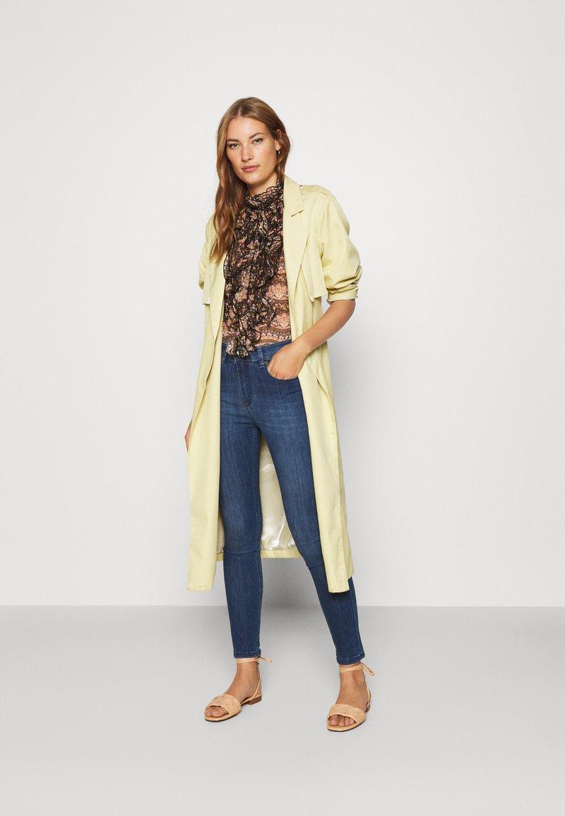 LOIS Jeans - CELIA - Jeans Skinny Fit - teal stone